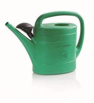 Садова лійка Prosperplast SPRING 14 л, зелена (5905197654751)