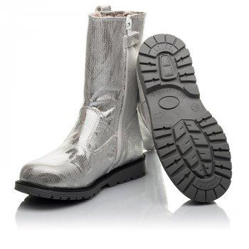 Зимние сапоги на меху Woopy Fashion серебряный (4458)