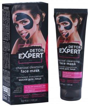 Угольная маска для лица Detox Expert очищающая 120 мл (4823080004999)