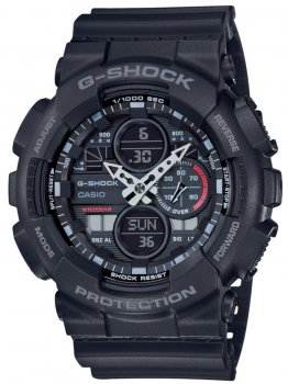 Годинник Casio GA-140-1A1ER G-Shock 51mm 20ATM