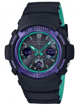Годинник Casio AWG-M100SBL-1AER G-Shock 46mm 20ATM