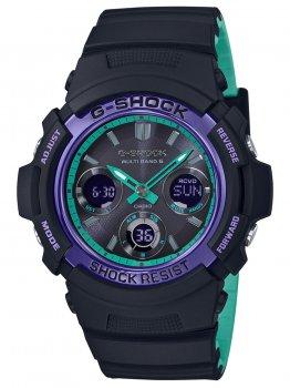 Годинник Casio AWG-M100SBL-1AER G-Shock 46mm 20ATM