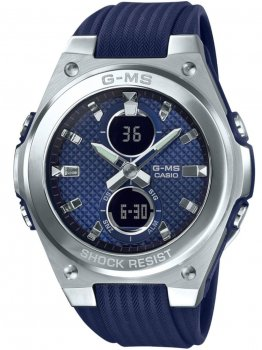 Годинник Casio MSG-C100-2AER Baby-G Damen 40mm 10ATM