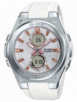 Годинник Casio MSG-C100-7AER Baby-G Damen 40mm 10ATM
