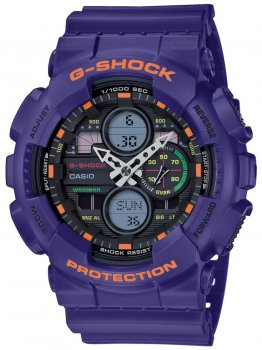 Годинник Casio GA-140-6AER G-Shock 51mm 20ATM