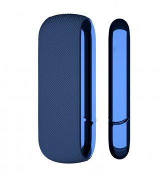 Бічна панель + силіконовий чохол IQOS для IQOS 3/DUO Синій