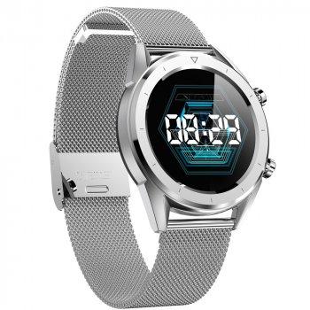 Розумні годинник No.1 DT28 з ЕКГ і пульсоксиметром (Сріблястий)