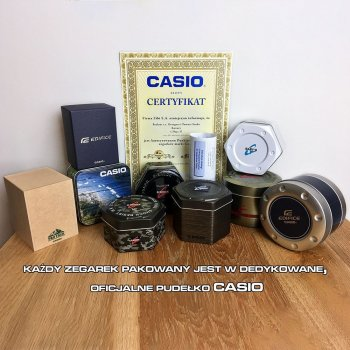 Годинник Casio ZESTAW-19-CV-GIFT-SET-SILVER