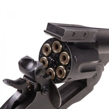"Пневматичний Револьвер ASG Schofield Pellets 6"" Корпус - метал. 23702820"