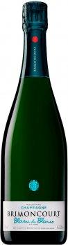 Шампанське Champagne Brimoncourt Blanc de Blancs біле брют 0.75 л 12.5% (3760169960016)