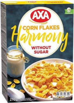 Упаковка кукурузных хлопьев AXA Гармония 270 г х 6 шт (4820008128959)