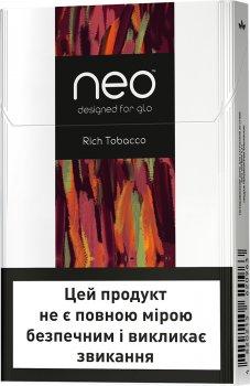 Блок стиків для нагрівання тютюну GLO NEO STIKS Rich Tobacco 10 пачок (4820215621205)