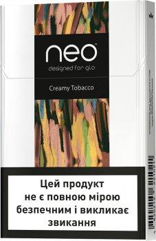 Блок стиків для нагрівання тютюну GLO NEO STIKS Creamy Tobacco 10 пачок (4820215621168)