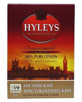 Чай чорний крупнолистовий Hyleys Англійський аристократичний 100 г (642)