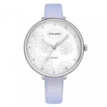 Женские классические часы Yolako, циферблат - белый, арт. (41325)