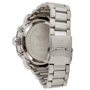 Часы AMST 3022 Metall Silver-Black-Silver