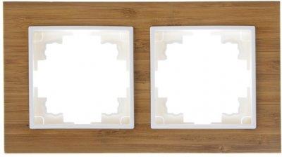 Подвійна рамка Brille NB-2F Бамбук (42-246)