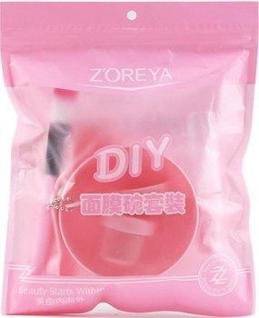 Набір для приготування масок ZOREYA. Рожевий
