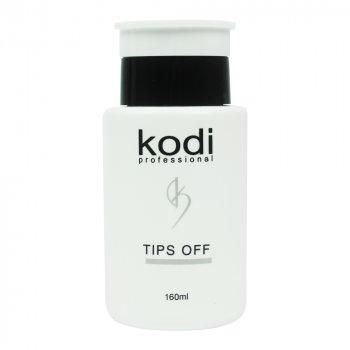Kodi Tips Off - Рідина для зняття гель-лаку і акрилу Kodi, 160 мл (0052045)