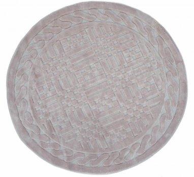 Килимок для ванної Агуа. Berceste пудра, круглий-Діаметр 120 см