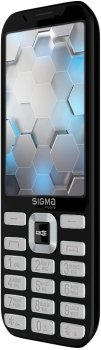 Мобільний телефон Sigma mobile X-style 35 Screen Black