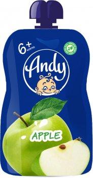 Упаковка пюре Andy Яблуко з 6 місяців 90 г х 12 шт. (4813163003421)