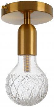 Світильник настінно-стельовий Brille BL-877C/1 G9 BZ (29-173)