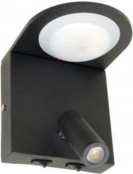 Бра Brille AL-532/7 Вт + 3 Вт LED BK (27-044)