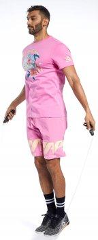 Футболка Reebok Crossfit Surfing Bear Tee FJ5279 Posh Pink
