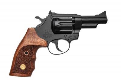 Револьвер під патрон Флобера Alfa mod. 431 ворон/дерево. 14310056