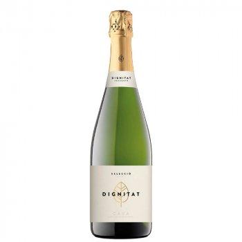 Вино игристое Dignitat Cava белое брют 0.75 л 11.5% (8410644620342)