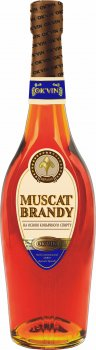 Напиток алкогольный OK'VIN Muscat Brandy 0.5 л 35% (4820013376321)