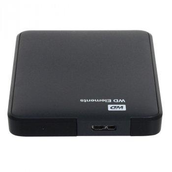 Жорсткий диск Western Digital Elements 500GB 2.5 USB 3.0 External Black (WDBUZG5000ABK) New