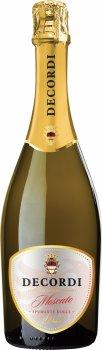 Алкогольный напиток на основе вина Decordi Moscato Spumante Dolce белое сладкое 0.75 л 6% (8008820148966)