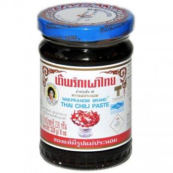 Тайская чили паста Maepranom 228г
