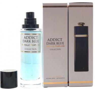 Парфюмированная вода для женщин Мораль Парфюм Addict Dark Blue версия Dior Addict Eau De Parfum 30 мл (3695754983197)
