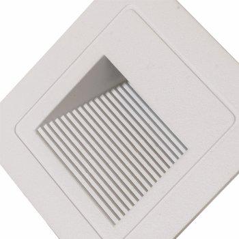 Настінний світильник Brille LZ-02/3 Вт WW WH IP65 (34-348)