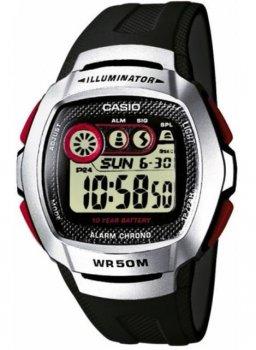 Наручний чоловічий годинник Casio W-210-1DVEF
