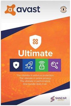 Антивірус Avast Ultimate 1 ПК на 2 роки (електронна ліцензія) (AVAST-UL-1-2Y)