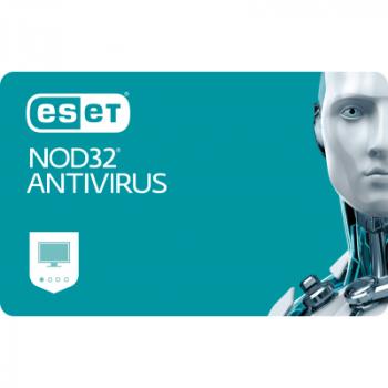 Антивірус ESET NOD32 Antivirus 6 ПК, ліцензія на 1year (16_6_1)