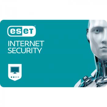 Антивирус ESET Internet Security для 19 ПК, лицензия на 2year (52_19_2)