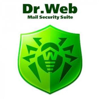 Антивірус Dr. Web Mail Security Suite+ ЦУ/ Антиспам 20 ПК 2 роки ел. ліц. (LBP-AC-24M-20-A3)
