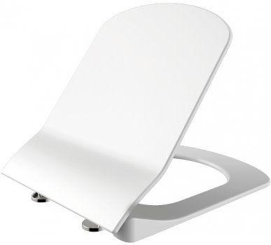 Унітаз підвісний CREAVIT Elegant Rim-Off EG321-11CB00E-0000 + сидіння Soft Close KC1103.01.0000E дюропласт