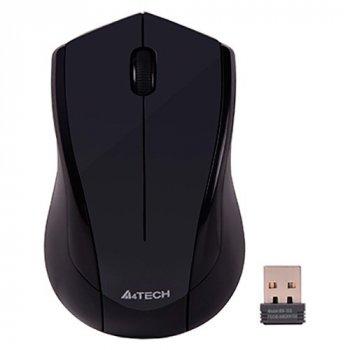 Миша A4 Tech G3-400N (Glossy Grey) безпровідна V-Track USB, 1000dpi