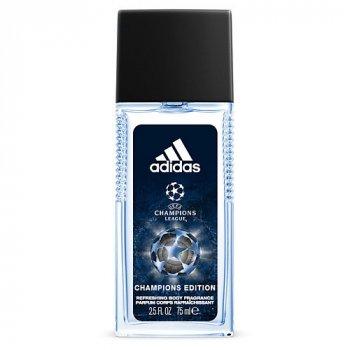 Спрей для тіла освіжаючий чоловічий Adidas Champions League 75 мл