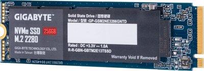 Gigabyte 256GB M. 2 2280 NVMe PCIe 3.0 x4 NAND TLC (GP-GSM2NE3256GNTD)