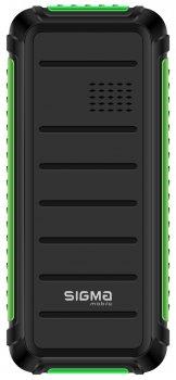 Мобільний телефон Sigma mobile X-style 18 Track Black-Green (4827798854433)