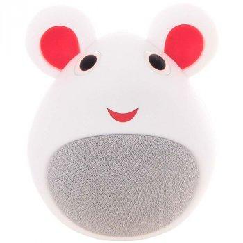 Bluetooth колонка для дітей Мишка, біла, iCutes (MB-M919)