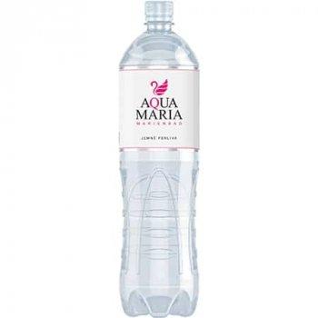 Упаковка слабогазированной столовой воды низкой минерализации Aqua Maria Sparkling BHMW 1.5 л x 6 шт