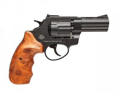 """Револьвер флобера STALKER S Brown 3"""" с силуминовым барабаном"""